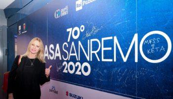 Anna Falchi a Casa Sanremo