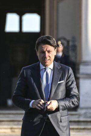 STATI GENERALI VILLA PAMPHILJ PAMPHILI CONFERENZA STAMPA DI CHIUSURA GIUSEPPE CONTE PRESIDENTE DEL CONSIGLIO